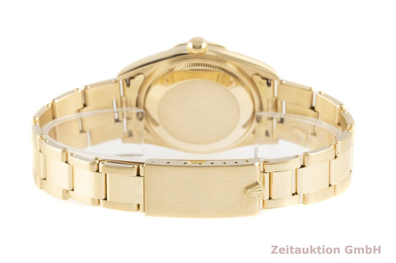 gebrauchte Luxusuhr Rolex Date 18k Gold Automatik Kal. 3135 Ref. 15238  | 2103279 _1