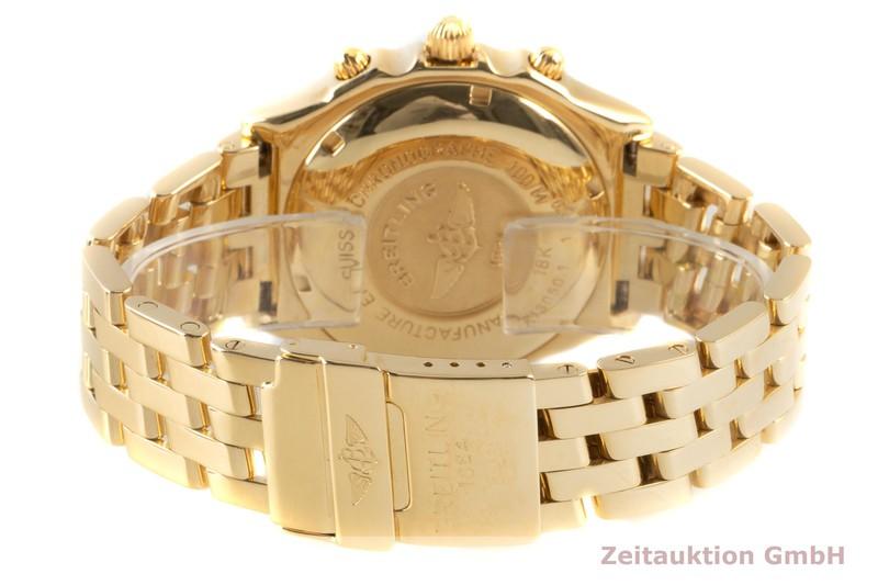 gebrauchte Luxusuhr Breitling Chronomat Chronograph 18k Gold Automatik Kal. B13 Ref. K13050.1    2103296 _1