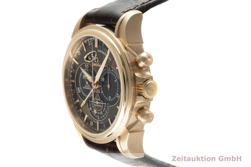 gebrauchte Luxusuhr Omega De Ville Chronograph 18k Rotgold Automatik Kal. 3603 Ref. 422.53.44.52.13.001  | 2103298 _0