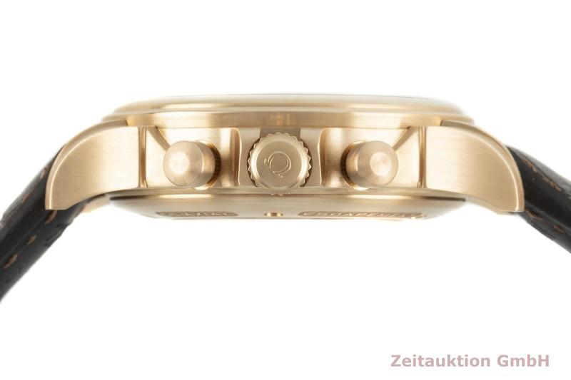 gebrauchte Luxusuhr Omega De Ville Chronograph 18k Rotgold Automatik Kal. 3603 Ref. 422.53.44.52.13.001  | 2103298 _1