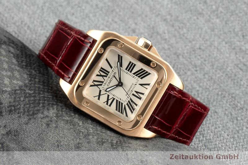 gebrauchte Luxusuhr Cartier Santos 100 18k Gold Automatik Kal. 076 Ref. 2879  | 2103306 _0