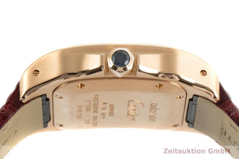 gebrauchte Luxusuhr Cartier Santos 100 18k Gold Automatik Kal. 076 Ref. 2879  | 2103306 _1