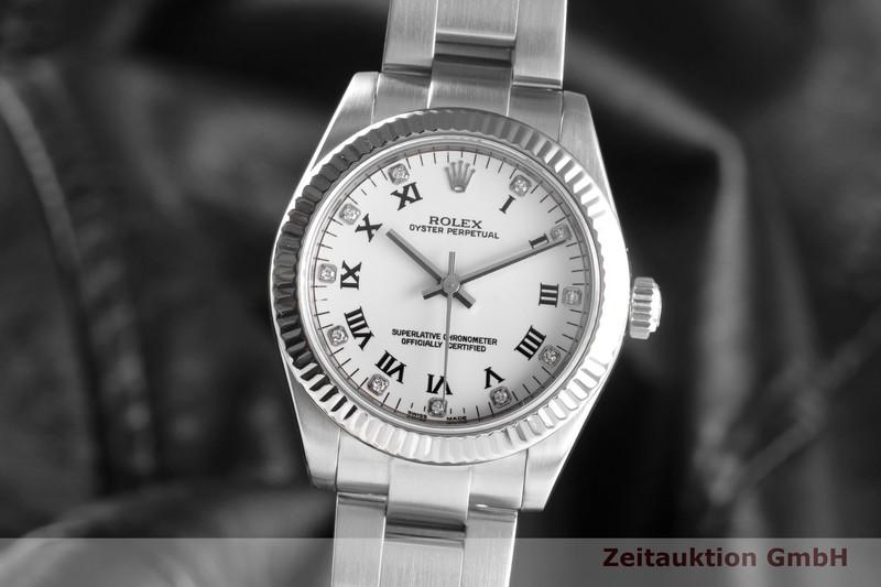 gebrauchte Luxusuhr Rolex Oyster Perpetual Stahl / Weissgold Automatik Kal. 2231 Ref. 177234    2103331 _0