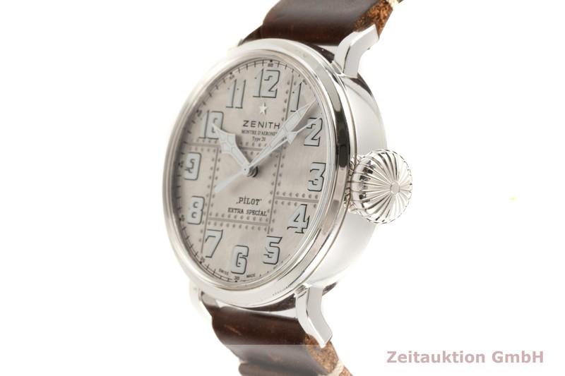 gebrauchte Luxusuhr Zenith Pilot Silber Automatik Kal. 679 Ref. 05.2430.679 LIMITED EDITION | 2103337 _0