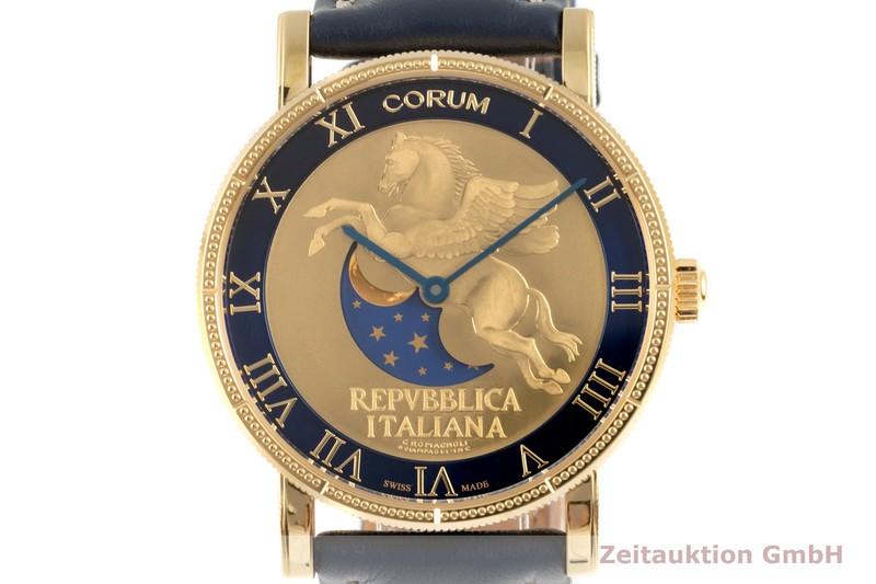 gebrauchte Luxusuhr Corum Heritage Stahl vergoldet Automatik Ref. 412.100.98/0F03ZP56, 04.0037 LIMITED EDITION   2103348 _0