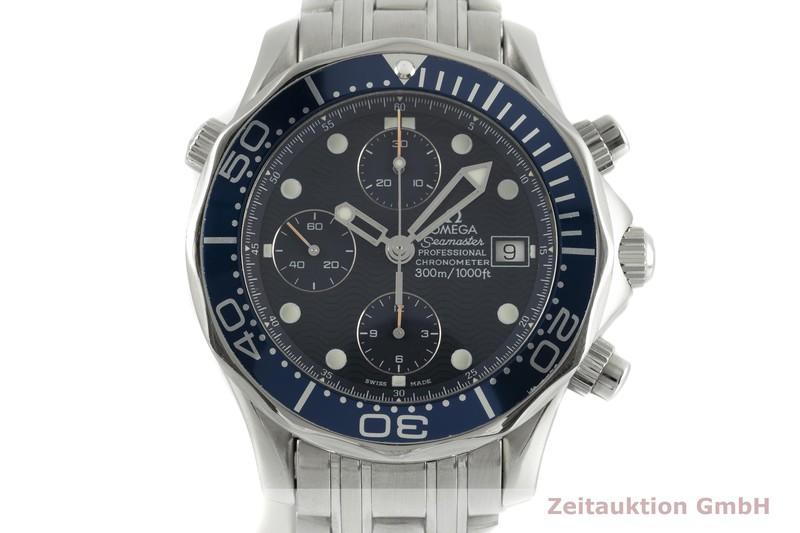 gebrauchte Luxusuhr Omega Seamaster Chronograph Stahl Automatik Kal. 1154 Ref. SU 378.0504, 178.0504, 378.0504, 175.0504, 375.0504    2103353 _0