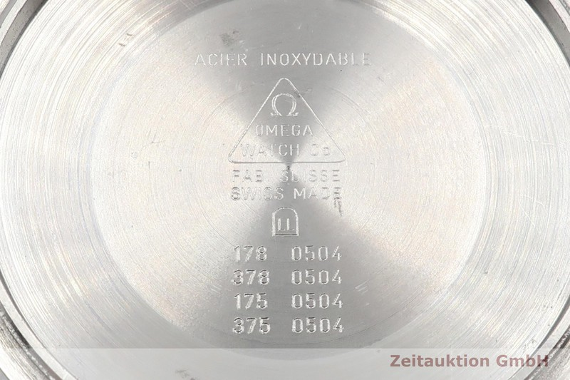 gebrauchte Luxusuhr Omega Seamaster Chronograph Stahl Automatik Kal. 1154 Ref. SU 378.0504, 178.0504, 378.0504, 175.0504, 375.0504    2103353 _1