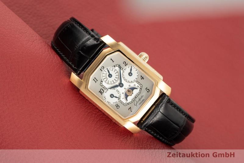 gebrauchte Luxusuhr Glashütte Senator 18k Gold Handaufzug Kal. GUB 42  | 2103370 _0