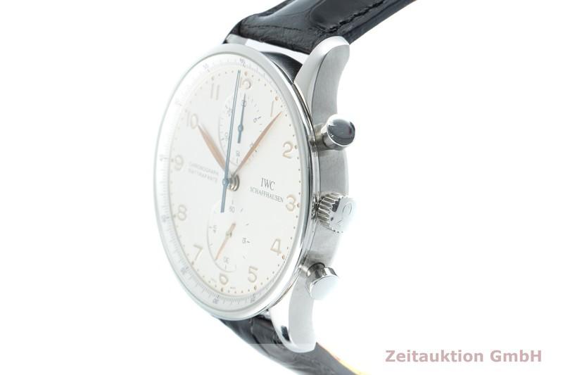 gebrauchte Luxusuhr IWC Portugieser Chronograph Stahl Handaufzug Kal. C.76240 Ref. 3712-002  | 2103389 _0