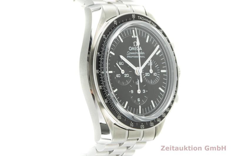 gebrauchte Luxusuhr Omega Speedmaster Moonwatch Chronograph Stahl Handaufzug Kal. 3861 Ref. 310.30.42.50.01.002    2103395 _0