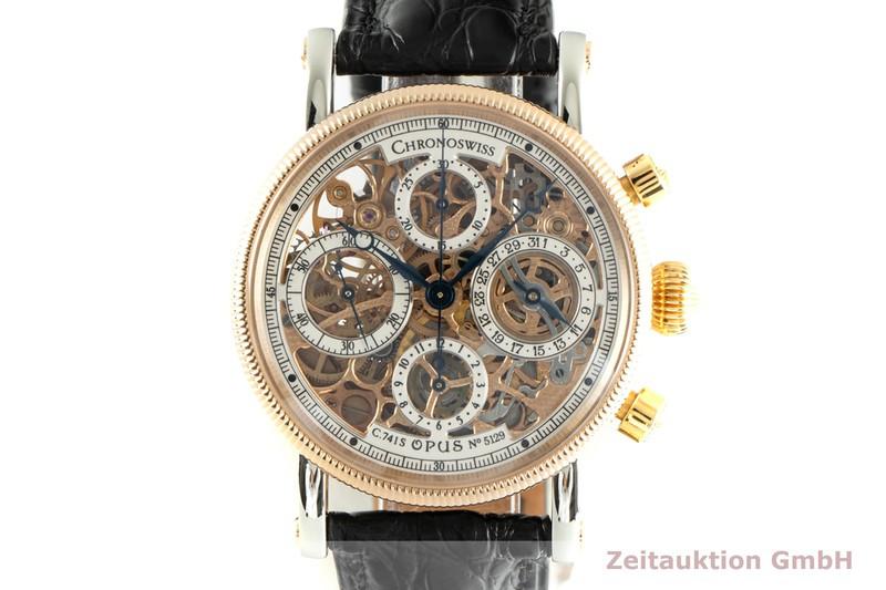 gebrauchte Luxusuhr Chronoswiss Opus Chronograph Stahl / Gold Automatik Kal. C.7415 Ref. CH7522R    2103413 _0