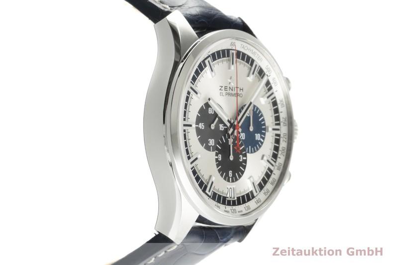 gebrauchte Luxusuhr Zenith El Primero Chronograph Stahl Automatik Kal. 400 Ref. 03.2520.400/69.C713  | 2103415 _0