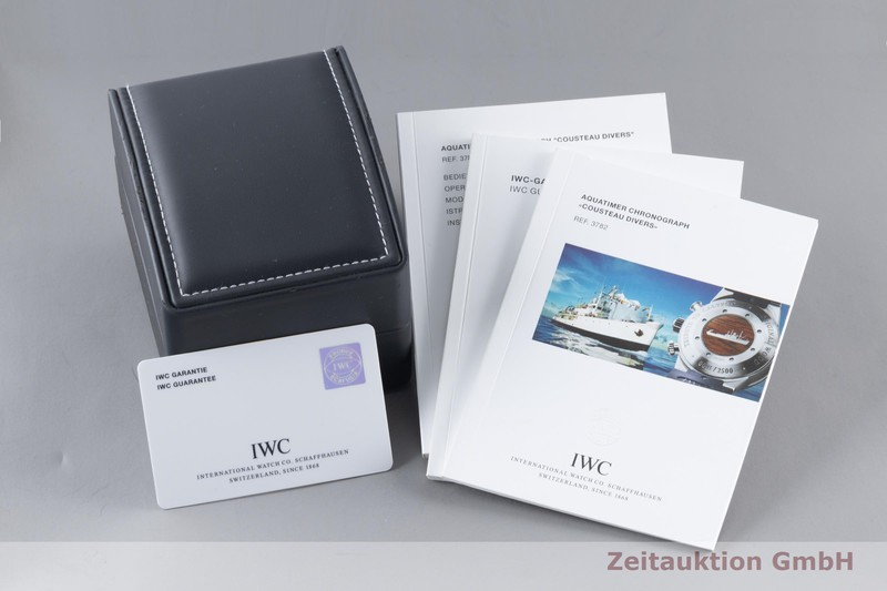 gebrauchte Luxusuhr IWC Aquatimer Chronograph Stahl Automatik Kal. C.79320 Ref. IW378201 LIMITED EDITION | 2103427 _0