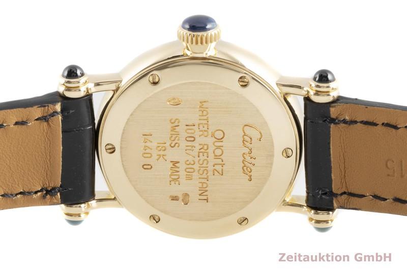 gebrauchte Luxusuhr Cartier Diabolo 18k Gold Quarz Kal. 157 Ref. 14400  | 2103438 _1