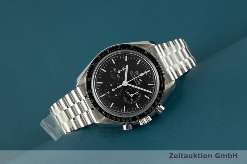 gebrauchte Luxusuhr Omega Speedmaster Chronograph Stahl Handaufzug Kal. 3861 Ref. 310.30.42.50.01.002    2103469 _0