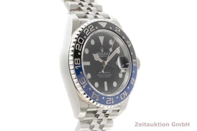 gebrauchte Luxusuhr Rolex GMT Master II Stahl Automatik Kal. 3285 Ref. 126710BLNR  | 2103474 _0