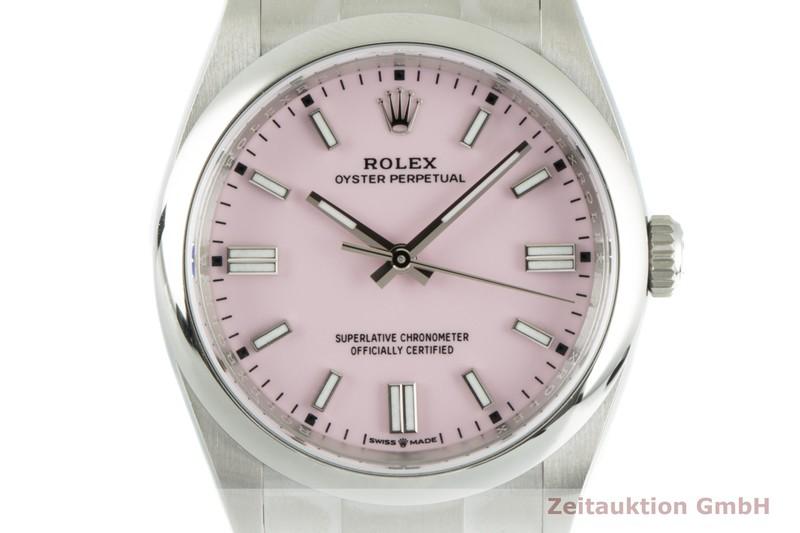 gebrauchte Luxusuhr Rolex Oyster Perpetual Stahl Automatik Kal. 3220 Ref. 126000  | 2103479 _0