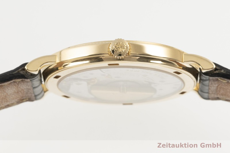 gebrauchte Luxusuhr Patek Philippe Calatrava 18k Gold Automatik Kal. 240/111 Ref. 5120    2103482 _1