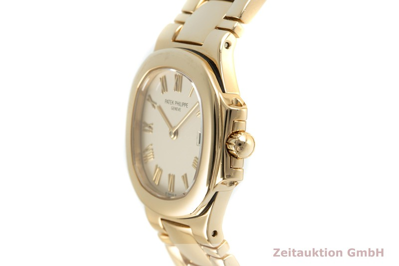 gebrauchte Luxusuhr Patek Philippe Nautilus 18k Gold Quarz Kal. E19C Ref. 4700/51  | 2103483 _0