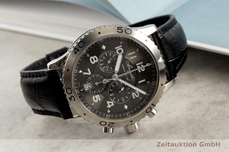 gebrauchte Luxusuhr Breguet Type XXI Chronograph Stahl Automatik Kal. 5840/1 Ref. 3810ST/92/9ZU    2103490 _0