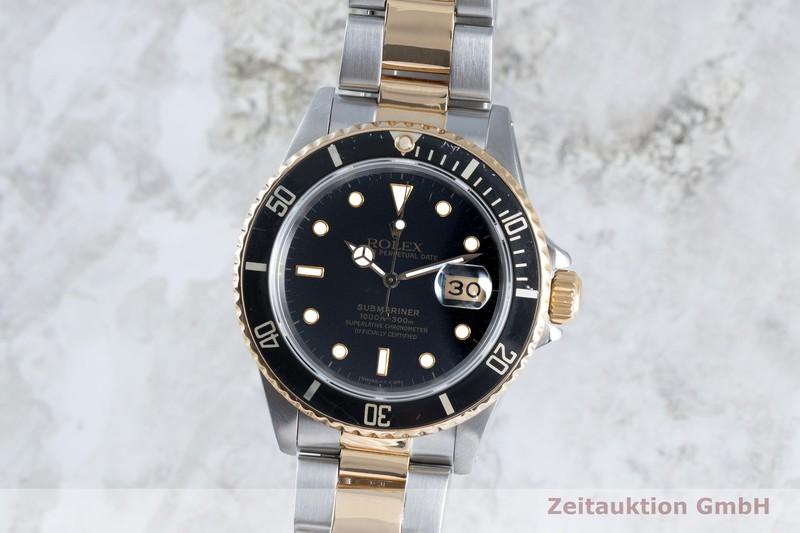 gebrauchte Luxusuhr Rolex Submariner Stahl / Gold Automatik Kal. 3035 Ref. 16803    2103503 _0