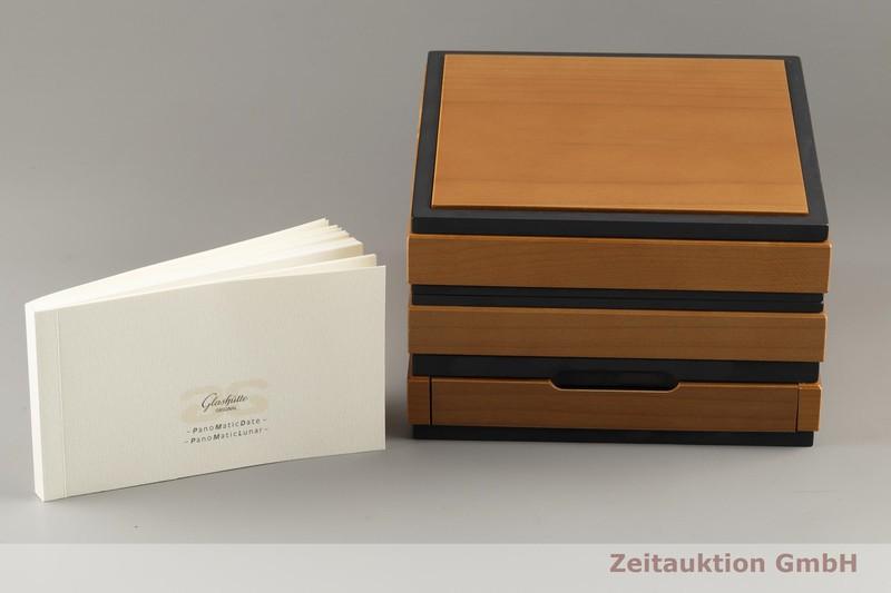 gebrauchte Luxusuhr Glashütte PanoMaticDate 18k Gold Automatik Kal. GUB 90 Ref. 90-01-01-01-04  | 2103504 _0