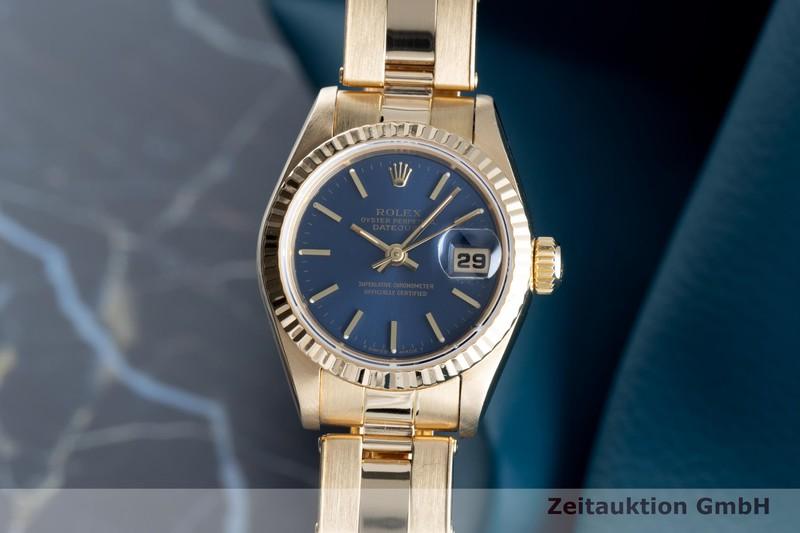 gebrauchte Luxusuhr Rolex Lady Datejust 18k Gold Automatik Kal. 2135 Ref. 69178  | 2103541 _0