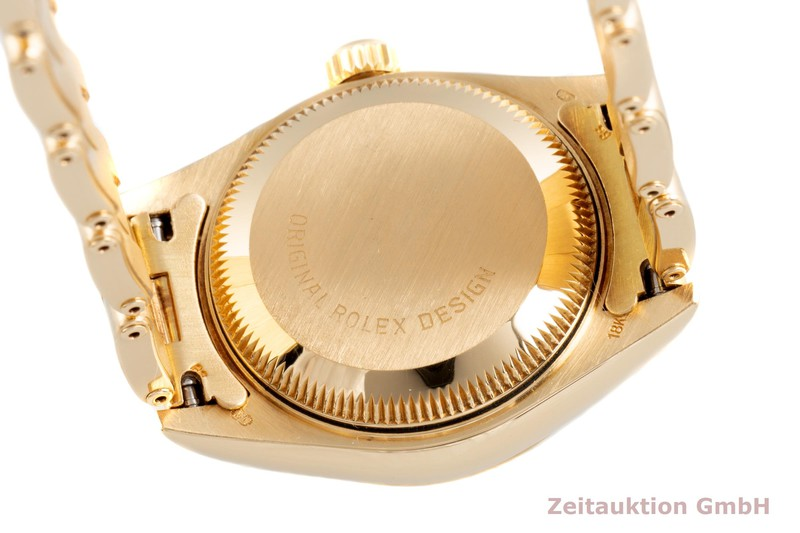 gebrauchte Luxusuhr Rolex Lady Datejust 18k Gold Automatik Kal. 2135 Ref. 69178  | 2103541 _1
