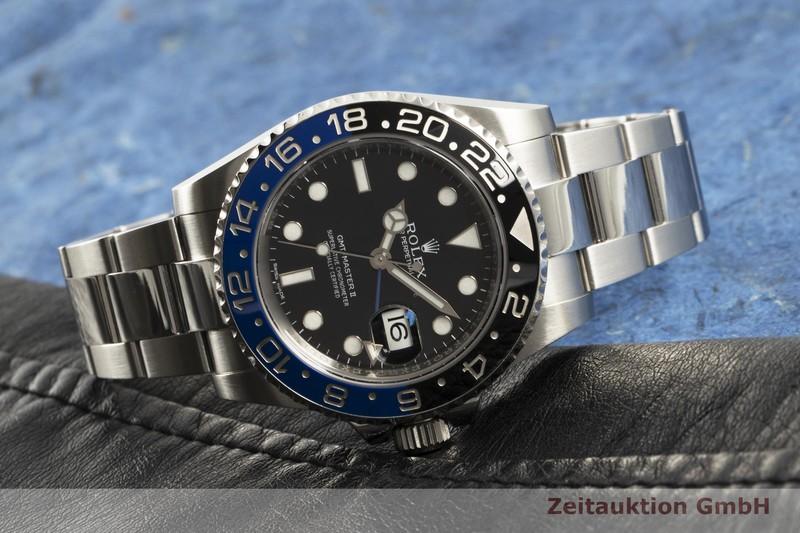 gebrauchte Luxusuhr Rolex GMT Master II Stahl Automatik Kal. 3186 Ref. 116710BLNR  | 2103547 _0
