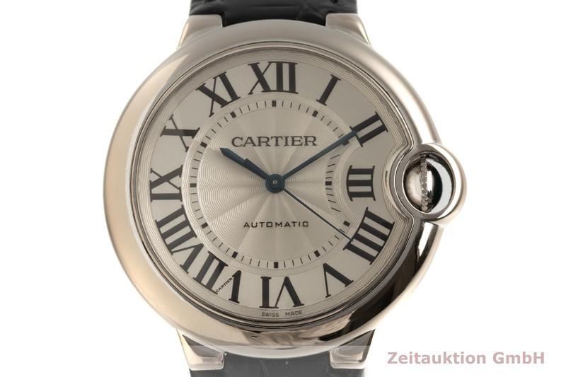 gebrauchte Luxusuhr Cartier Ballon Bleu de Cartier 18k Weissgold Automatik Kal. 076 Ref. 3004    2103552 _0