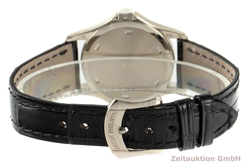 gebrauchte Luxusuhr Patek Philippe Calatrava 18k Weissgold Quarz Kal. E19C Ref. 4906    2103559 _1
