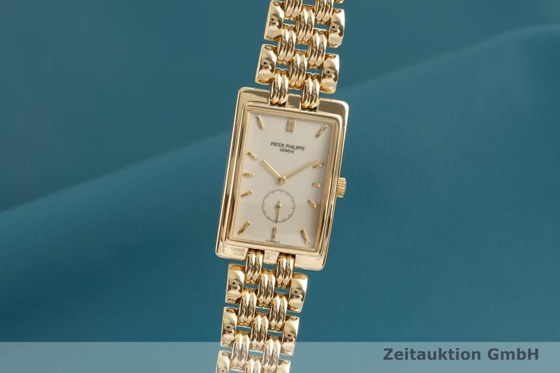 gebrauchte Luxusuhr Patek Philippe Gondolo 18k Gold Handaufzug Kal. 215 Ref. 5009/1  | 2103561 _0