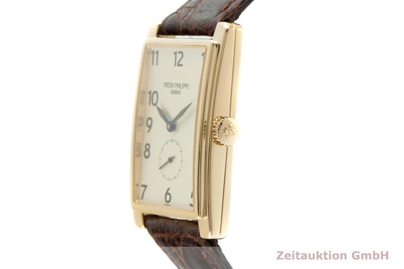 gebrauchte Luxusuhr Patek Philippe Gondolo 18k Gold Handaufzug Kal. 215 Ref. 5009  | 2103562 _0