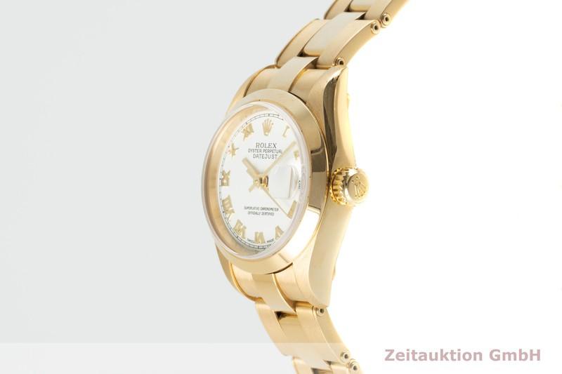 gebrauchte Luxusuhr Rolex Lady Datejust 18k Gold Automatik Kal. 2235 Ref. 79168  | 2103571 _0