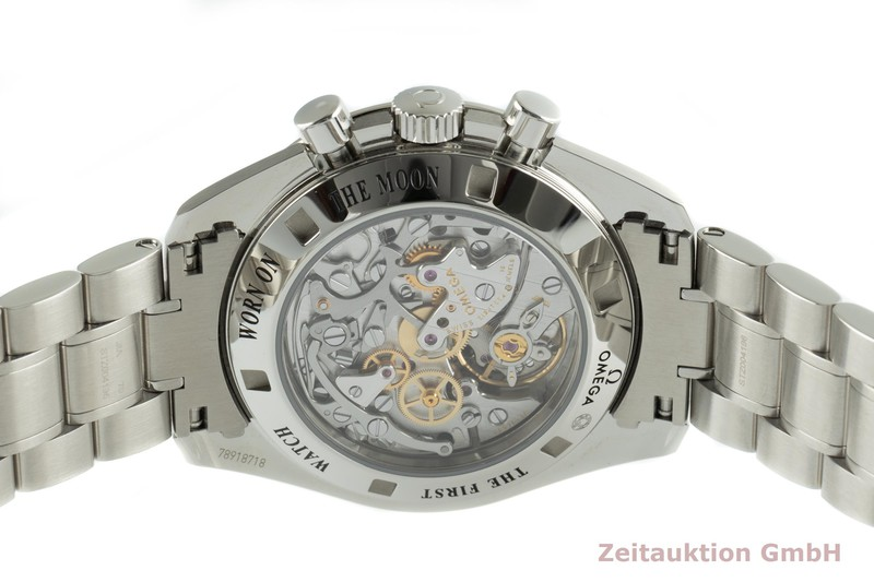 gebrauchte Luxusuhr Omega Speedmaster Moonwatch Chronograph Stahl Handaufzug Kal. 1863 Ref. 311.30.42.30.01.006  | 2103597 _1