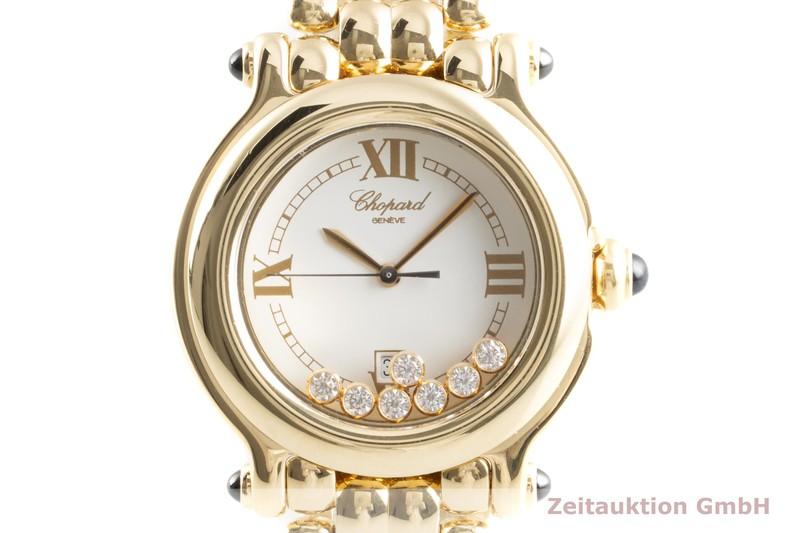gebrauchte Luxusuhr Chopard Happy Sport 18k Gold Quarz Ref. 27/6137-23, 4144  | 2103612 _0