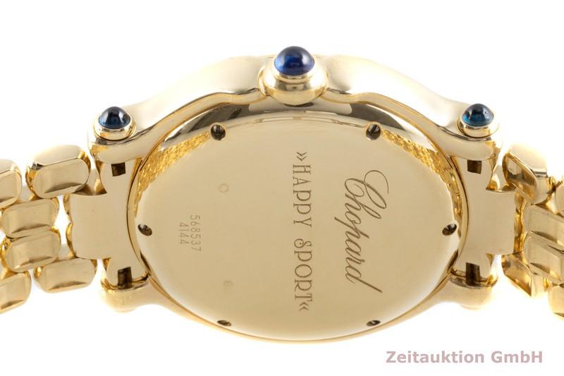 gebrauchte Luxusuhr Chopard Happy Sport 18k Gold Quarz Ref. 27/6137-23, 4144  | 2103612 _1