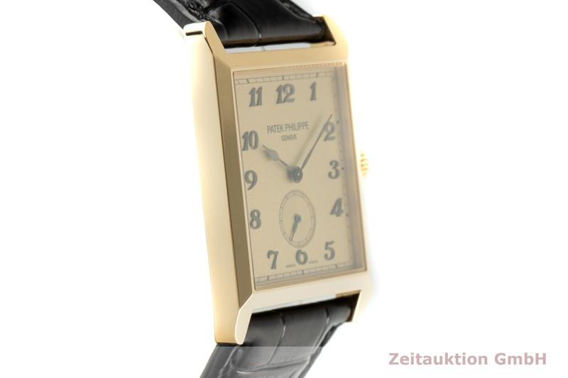 gebrauchte Luxusuhr Patek Philippe Gondolo 18k Gold Handaufzug Kal. 215 Ref. 5109J-010  | 2103620 _0