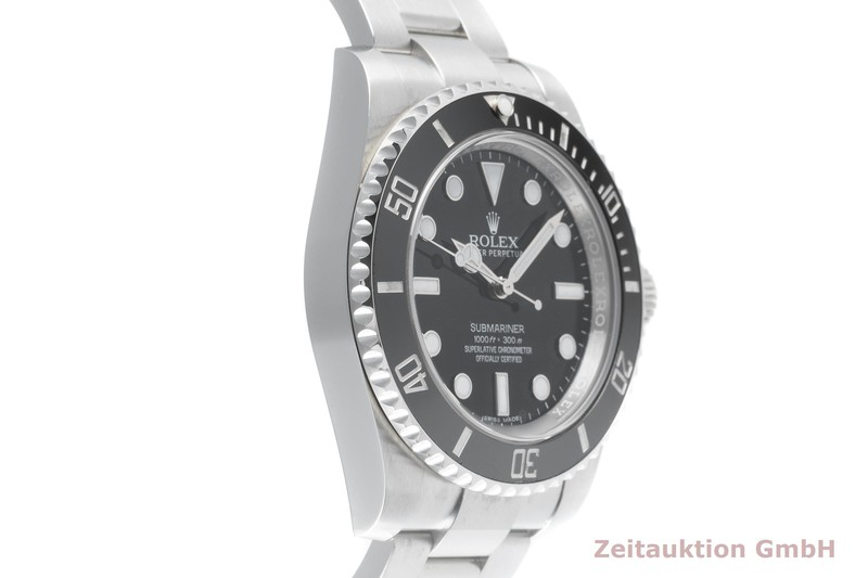 gebrauchte Luxusuhr Rolex Submariner Stahl Automatik Kal. 3130 Ref. 114060    2103640 _0