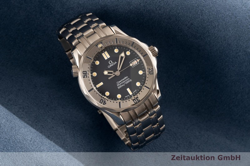 gebrauchte Luxusuhr Omega Seamaster Stahl Quarz Kal. 1538 Ref. 196.1502    2103651 _0