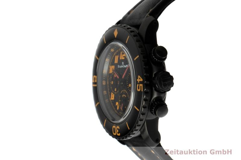 gebrauchte Luxusuhr Blancpain Fifty Fathoms Chronograph Stahl Automatik Kal. F185 Ref. 5785F-1103-63A    2103669 _0