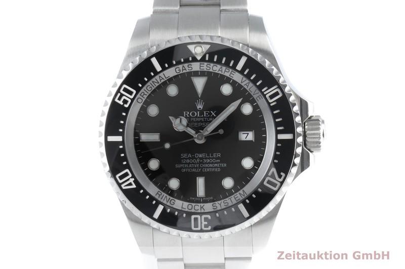 gebrauchte Luxusuhr Rolex Sea Dweller Stahl Automatik Kal. 3135 Ref. 116660    2103673 _0