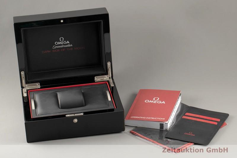 gebrauchte Luxusuhr Omega Speedmaster Moonwatch Chronograph Keramik Automatik Kal. 9300 Ref. 311.92.44.51.01.005    2103680 _0