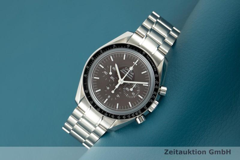 gebrauchte Luxusuhr Omega Speedmaster Moonwatch Chronograph Stahl Handaufzug Kal. 1863 Ref. 311.32.42.30.13.001    2103692 _0