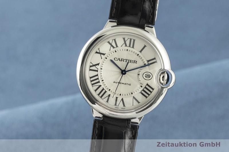 gebrauchte Luxusuhr Cartier Ballon Bleu de Cartier 18k Weissgold Automatik Kal. 049 Ref. W6901351, 3000    2103701 _0