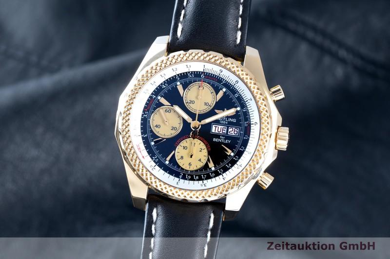 gebrauchte Luxusuhr Breitling Bentley Chronograph 18k Gold Automatik Ref. K13362  | 2103714 _0