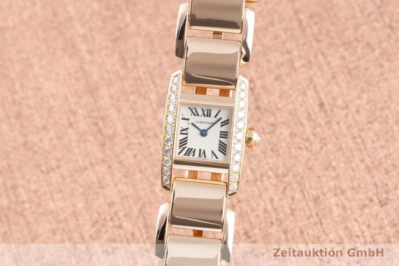 gebrauchte Luxusuhr Cartier Tankissime 18k Gold Quarz Kal. 057 Ref. 2801  | 2103715 _0