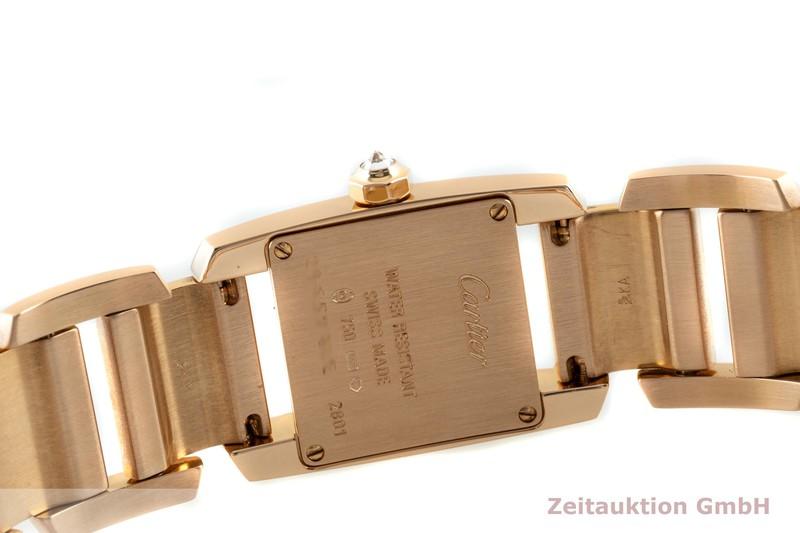 gebrauchte Luxusuhr Cartier Tankissime 18k Gold Quarz Kal. 057 Ref. 2801  | 2103715 _1