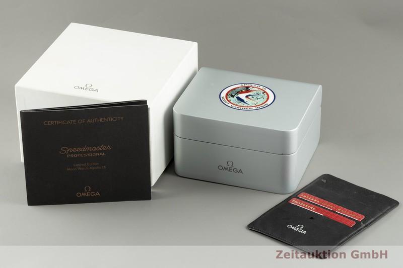 gebrauchte Luxusuhr Omega Speedmaster Moonwatch Chronograph Stahl / Gold Handaufzug Kal. 1861 Ref. 3366.51.00 LIMITED EDITION   2103740 _0