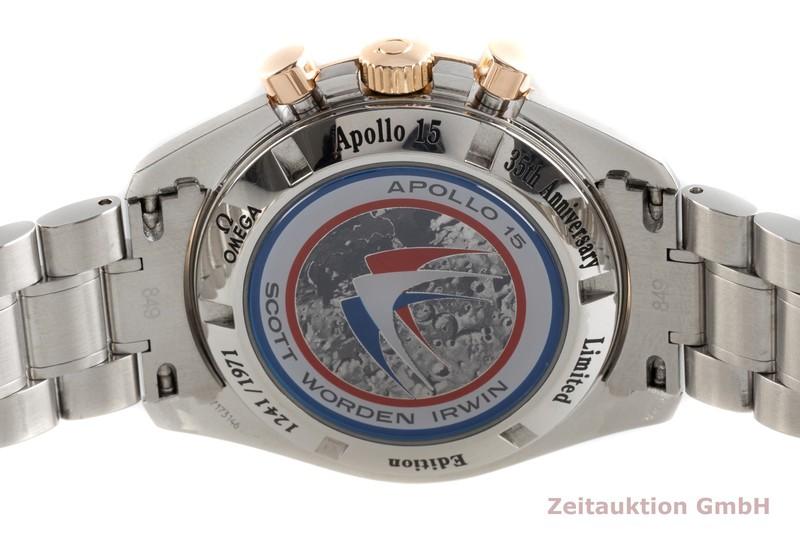 gebrauchte Luxusuhr Omega Speedmaster Moonwatch Chronograph Stahl / Gold Handaufzug Kal. 1861 Ref. 3366.51.00 LIMITED EDITION   2103740 _1